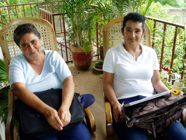 The chiefs of La Concha's health centre - Arlen & Mercedes