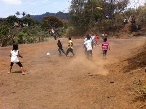 The soccer tournament in full swing