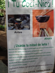 The info on the eco cooker - given to representatives of each of the communities along with a demonstartion.