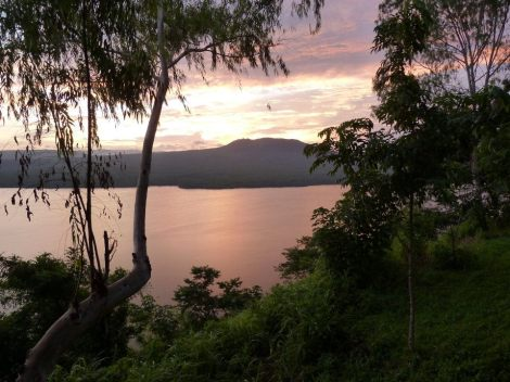 Laguna de Masaya (from the Masaya side)