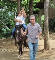 Volunteer with us on the equino therapy project